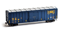 Roundhouse HO 50ft OB Box CSX #129928, LIST PRICE $28.98
