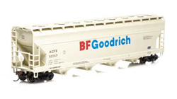 Roundhouse HO 5250 Centerflow Hopper  ACFX/BF Goodrich #55517, DUE 2/15/2020, LIST PRICE $28.98