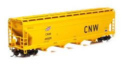 Roundhouse HO ACF 5250 Centerflow Hopper  C&NW #490215, DUE 2/15/2020, LIST PRICE $28.98