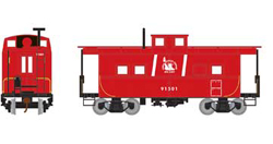 Roundhouse HO Eastern Caboose CNJ red 91501, LIST PRICE $28.98