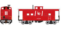 Roundhouse HO Eastern Caboose CNJ red 91534, DUE 11/30/2018, LIST PRICE $28.98