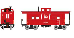 Roundhouse HO Eastern Caboose CNJ red 91552, DUE 11/30/2018, LIST PRICE $28.98