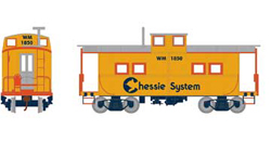 Roundhouse HO Eastern Caboose Chessie WM 1850, DUE 11/30/2018, LIST PRICE $28.98