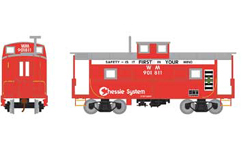 Roundhouse HO Eastern Caboose WM Chessie r/w 901811, LIST PRICE $28.98