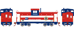 Roundhouse HO WV Caboose BN Freedom 12618, LIST PRICE $29.98