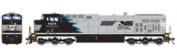 Roundhouse HO GE AC4400CW NS Blue Mane 4005, LIST PRICE $139.98
