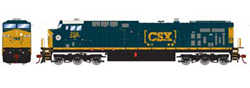 Roundhouse HO GE AC4400CW CSX Heritage SCL 256, DUE 1/30/2020, LIST PRICE $139.98