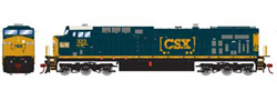 Roundhouse HO GE AC4400CW CSX Heritage L&N 323, LIST PRICE $139.98
