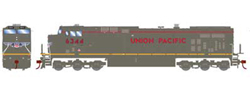 Roundhouse HO GE AC4400CW UP Grey Ghost 6344, DUE 1/30/2020, LIST PRICE $139.98