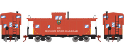 Roundhouse HO WV Caboose McCloud River Ry 101, LIST PRICE $29.98