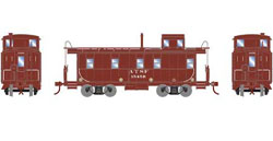 Roundhouse HO Cupola Caboose, SF/Brown #1545R, DUE 3/20/2019, LIST PRICE $29.98