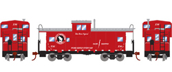 Roundhouse HO WV Caboose GN Goat X96, LIST PRICE $29.98