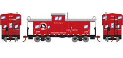 Roundhouse HO WV Caboose GN Goat X100, LIST PRICE $29.98