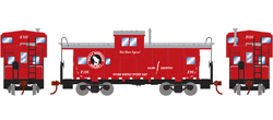 Roundhouse HO WV Caboose GN Goat X105, LIST PRICE $29.98