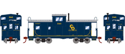 Roundhouse HO WV Caboose C&O 3165, LIST PRICE $29.98