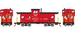 Roundhouse HO WV Caboose GM&O 2951, LIST PRICE $29.98