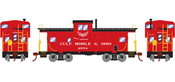 Roundhouse HO WV Caboose GM&O 2954, LIST PRICE $29.98