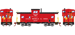 Roundhouse HO WV Caboose GM&O 2957, LIST PRICE $29.98