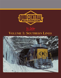 Morning Sun Books Ohio Central in Clr V1 Southern Lines, LIST PRICE $59.95