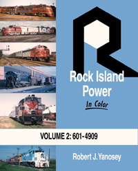 Morning Sun Books Rock Island Pwr In Clr V2 #601 4909, LIST PRICE $59.95