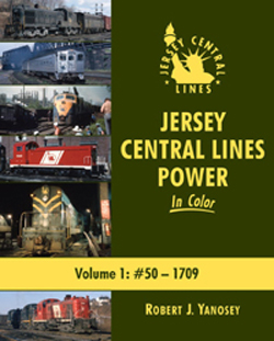 Morning Sun Books Jersey Central Lines Pwr In Clr V1 #50 1709, LIST PRICE $59.95