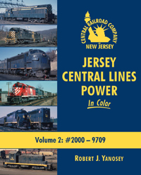 Morning Sun Books Jersey Central Lines Pwr Clr V2 #2000 9709 128 Pag, LIST PRICE $59.95