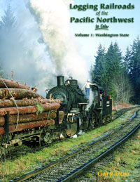Morning Sun Books Logging RR of the Pacific NW  Clr V1 WA State 128, LIST PRICE $59.95