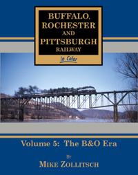 Morning Sun Books BR&P Railway in Clr V5 The B&O Era, LIST PRICE $59.95
