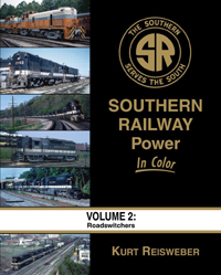 Morning Sun Books Southern Railway Pwr in Clr V2 RS, LIST PRICE $59.95