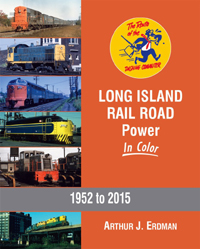 Morning Sun Books Long Island RR Pwr In Clr HC, 128 pages, LIST PRICE $59.95