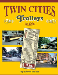 Morning Sun Books Twin Cities Trolleys In Clr HC, All Clr, LIST PRICE $59.95