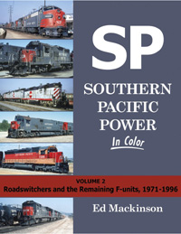 Morning Sun Books SP Pwr Clr V2 RS & Remaining F Units, 1971 1996, LIST PRICE $59.95