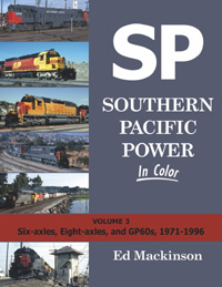 Morning Sun Books SP Pwr In Clr V3 6 Axles, 8 Axles and GP60's, 1971, LIST PRICE $59.95