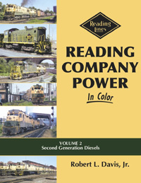 Morning Sun Books Reading Company Pwr In Clr V2 2nd Gen Diesels, LIST PRICE $59.95