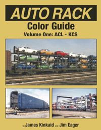 Morning Sun Books Auto Rack Clr Guide V1 ACL to KCS HC, 128 Pages, LIST PRICE $59.95