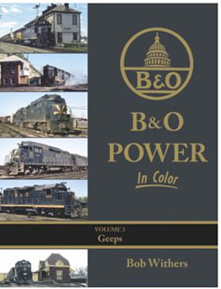 Morning Sun Books B&O Power in Color V3 Geeps  HC, LIST PRICE $59.95