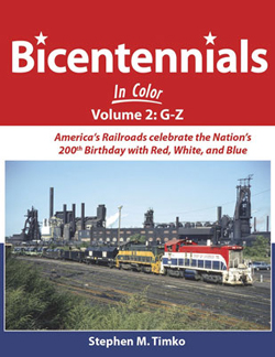Morning Sun Books A Bicentenials in Color V2, DUE 11/1/2018, LIST PRICE $59.95