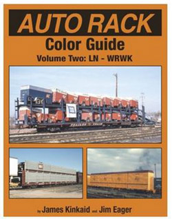 Morning Sun Books Auto Rack Color Guide Volume 2 - HARDCOVER , LIST PRICE $69.95