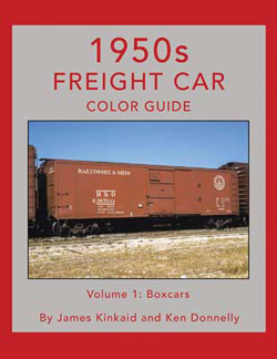 Morning Sun Books 1950s Freight Car Color Guide Volume 1: Boxcars, DUE 10/7/2021, LIST PRICE $69.95
