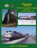 Morning Sun Books 1438 TRACKSIDE Around DETROIT, LIST PRICE $59.95