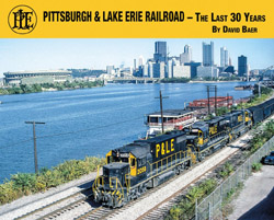 Morning Sun Books Pittsburgh & Lake Erie RR The Last 30 Years, LIST PRICE $39.95
