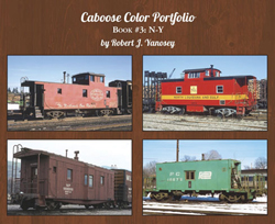 Morning Sun Books Caboose Color Portfolio, LIST PRICE $39.95