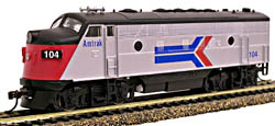 Model Power F-7A Metal Loco  Amtrak, LIST PRICE $74.98