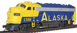 Model Power F-7A Metal Loco Alaska, LIST PRICE $75