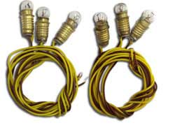 Model Power 6 ECONOMY LITE SETS SOCKETS &BULBS 12, LIST PRICE $9.98