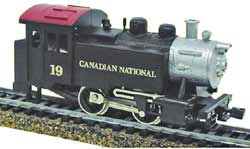 Model Power HO 0-4-0 Tank Switcher w/DCC & Sound, CN, LIST PRICE $109.98