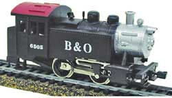 Model Power HO 0-4-0 Tank Switcher w/DCC & Sound, B&O, LIST PRICE $109.98