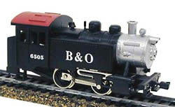 Model Power 0-4-0 Tank loco B&O, LIST PRICE $38.98