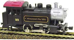 Model Power HO 0-4-0 Tank Switcher w/DCC & Sound, CPR, LIST PRICE $109.98