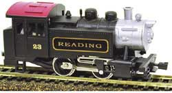 Model Power HO 0-4-0 Tank Switcher w/DCC & Sound, RDG, LIST PRICE $109.98